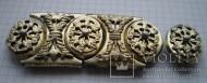 Часть пояса шляхетского или казацкого старшины, конца 16-17 столетий