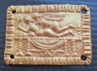 Золотая пластина - накладка, с сюжетом «Амур и Психея», ориентировочно 5 - 4 вв. до н.э.
