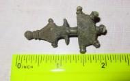 Пятипалая бронзовая фибула Ранние славяне 6-8 века