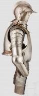Немецкий комплект доспехов для пешего боя с выгравированным нагрудным знаком, начало 17 века