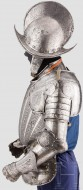 Миланский гравированный полудоспех, шлем Морион, конец 16 века
