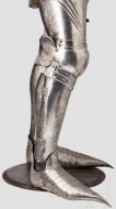 Латная защита ног, конец 15 века