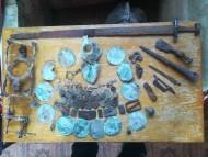 Коллекция вооружения всадника и конного снаряжения Салтово-маяцкой культуры