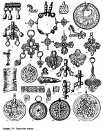 Металлопластика средневековой корелы