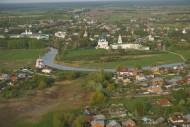 Суздаль. Центральная часть средневекового города. Рождественский собор