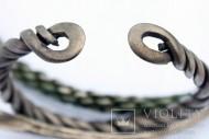 Древнерусские витые серебряные гривны и браслет