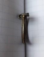 Витое кольцо с кельтским узлом. 11-12 век