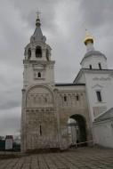 Лестничная башня и переход к церкви Рождества Богородицы в Боголюбове.