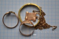 Золотое не замкнутое кольцо