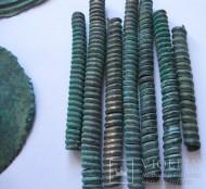 Древние спиральные пронизки