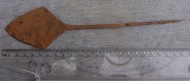 Золотоордынский большой ромбовидный наконечник стрелы