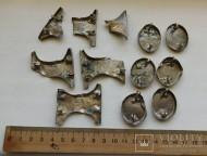 Средневековый козацкий пояс (остатки)