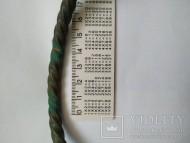 Бронзовая крученная шейная гривна