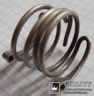 Спиральные височные кольца. Древняя Русь, серебро