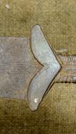 Меч акинак Солоха II отдел I тип по А. Мелюковой V, век до н. э.