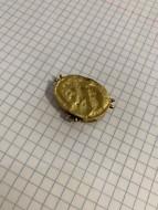 Часть ожерелья 1-2 го века, крупный красный камень