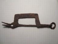 Железная фибула аланской культуры 7-9 веков