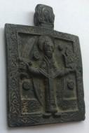 Нательная иконка Николай Можайский 18-19 век