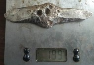 Серебряная гривна Черниговского типа, масса 199 грамм