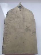 Четырехстворчатый складень, типа Кижи, двунадесятые праздники плюс богородичная створка. 18 век