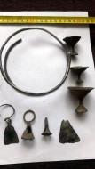 Серебряная гривна Ранний Железный век