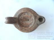Римский светильник украшенный веточками. 3-4 в.н.э.