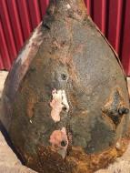 Древнерусский шлем детали обтяжки медным листом