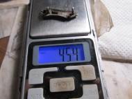 Серебряная накладка, от геральдического пояса, 6-7 вв.