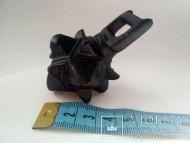 Кистень КР под кожаный ремень,бронзовый 166-167 грамм