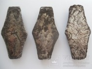 Три платежные гривны Киевского типа