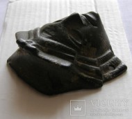 Античный бронзовый маскарон (маска)