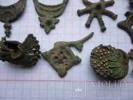 Древнерусские бронзовые колты