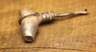 Древнерусский амулет клык  в серебре. 10 век