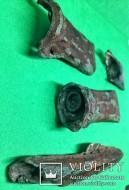 Культура Ноуа 15-13г. до н.э. Предмет внутри топора-кельта