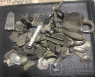 Різне срібло ЧК середньовіччя та ін. 136 гр.