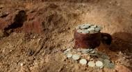 Клад серебряных грошей Речи Посполитой