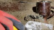 Археолог за работой