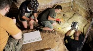 Находка клада монет арехеологами