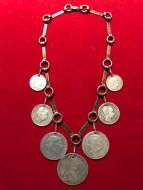 Монисто (Намысто) Серебро. Монеты Австрия