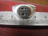 Перстень «стража мирового древа» вт.половина 16 в.- начало 17 века, серебро
