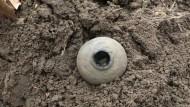 Клад: монеты в булаве
