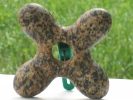 Булава каменная крестообразная, типа «Веремье» среднего этапа Трипольской культуры