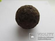 Железное мушкетное ядро, вес 109 гр.