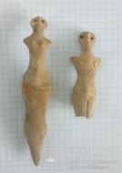 Женские глиняные фигурки Трипольской Культуры