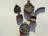 Коловрат - древнерусский солярный амулет и подвески разные