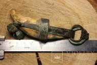 Медвежий клык-амулет охотника 9-12 век