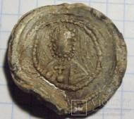 Вислая печать епископа полоцкого Мина (1105-1116) Деньслово