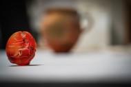 Красный камень от перстня