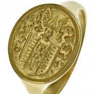 Ожидается, что перстень привлечет 10 000 фунтов стерлингов на аукционе