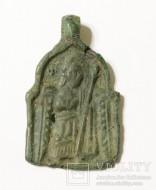 Иконка Пророк Илия и ворон в пустыне - Архангел Михаил, 13 век